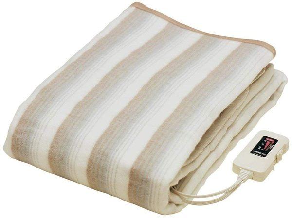日本製【椙山紡織NAKAGISHI】電熱長蓋毯 188 x 130cm NA-013K