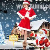 圣誕節圣誕服裝成人女演出裙子披肩套裝【南風小舖】