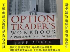 二手書博民逛書店The罕見Options Trader s Workbook:A Problem-Solving Approach