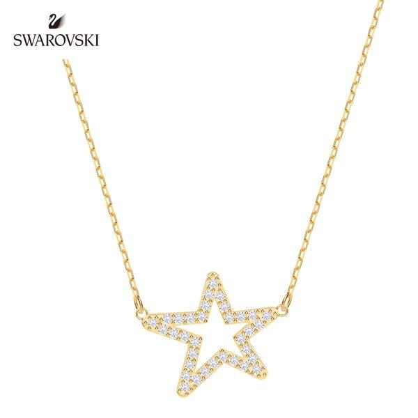 金色簡約迷人星星項鏈
