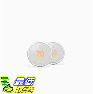 [8美國直購] Nest Thermostat E 2-pack Bundle