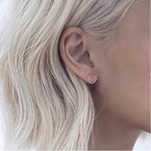 極簡繫列:otherstories風極細紐紋小圓圈耳釘簡約耳環R207 韓小姐