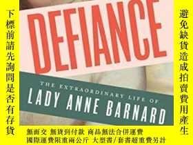 二手書博民逛書店Defiance:罕見The Extraordinary Lif