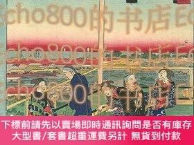二手書博民逛書店東京名所三十六戲撰あ多古山36罕見Humorous Views of Tokyo   Atago HillY4