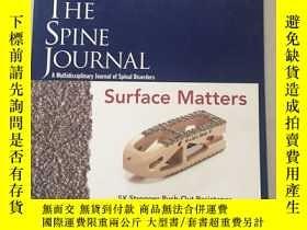 二手書博民逛書店THE罕見SPINE JOURNAL(脊柱雜誌)Y461061