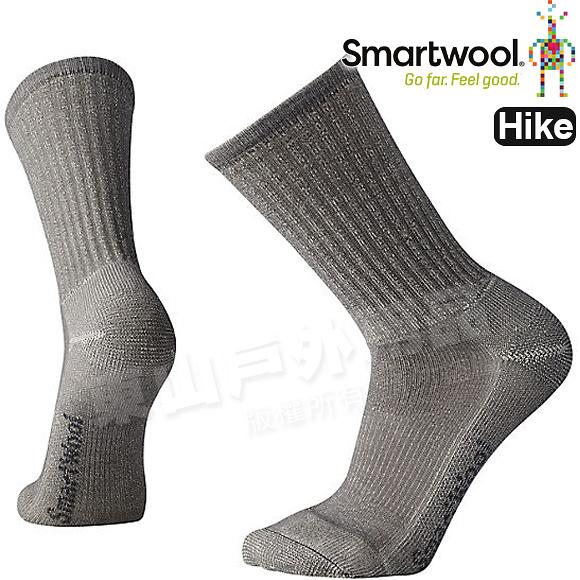 Smartwool Hike LT SW129-039淺灰 男超輕型徒步中長襪 美麗諾羊毛襪/戶外運動登山襪/健行排汗襪