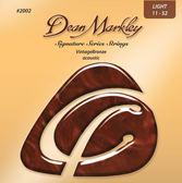 小叮噹的店-Dean Markley 2002 木吉他弦 0.11-0.52  Vintage Bronze