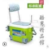 新款小釣箱可坐特價超輕迷你釣箱釣魚桶輕便升降小型多功能釣魚箱CY 酷男精品館