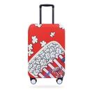 彈力箱套28寸32寸萬向輪拉桿箱保護套防塵罩旅行箱套行李箱保護套s