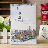 618好康又一發台灣風景手繪明信片