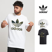 【GT】Adidas Originals 黑/白 短袖T恤 迷彩 純棉 運動 上衣 短T 三葉草 FM3338/FM3337