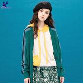 【早秋新品】American Bluedeer - 貼袋連帽針織上衣(魅力價)  秋冬新款