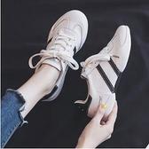 平底鞋 小白鞋女透氣潮夏款爆款百搭學生平底網面單鞋2021年春季新款 艾維朵