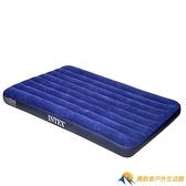充氣床墊家用雙人單人戶外便攜午休床折疊沖氣床氣墊床【勇敢者戶外】