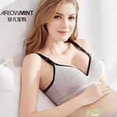 交換禮物 哺乳文胸孕婦內衣胸罩懷孕期棉質無鋼圈浦喂奶防下垂產後聚攏有型
