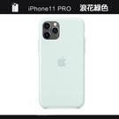 Apple iPhone 11 Pro Max 原廠矽膠護套 iPhone 11 Pro Max 原廠保護殼【浪花綠色】 美國水貨 原廠盒裝