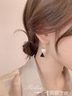 耳環 耳環2021年新款潮韓國氣質網紅2021高級感大氣珍珠耳飾女純銀耳釘 智慧e家 新品