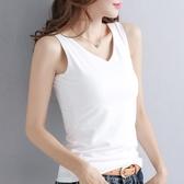 (免運)背心新款春夏季吊帶背心女外穿寬鬆打底韓版白色t恤女潮