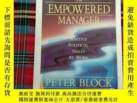 二手書博民逛書店The罕見Empowered Manager: Positive Political Skills at Work