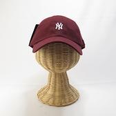 MLB 創信代理 棒球帽 老帽 洋基 5762004180 酒紅 後可調【iSport愛運動】