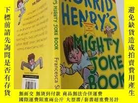 二手書博民逛書店horrid罕見henry s mighty joke book 可怕的亨利的笑話書:Y200392