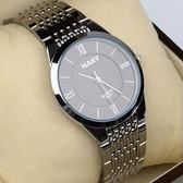 新款時尚男女士手錶超薄簡約男錶女錶防水男款學生情侶錶休閒石英WY萬聖節,7折起