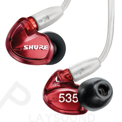 SHURE SE535 LTD 紅色特別版 三單體 平衡電樞 隔音 耳道耳機