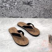 人字拖鞋女夏外穿時尚百搭平底度假防滑夾腳涼拖【少女顏究院】