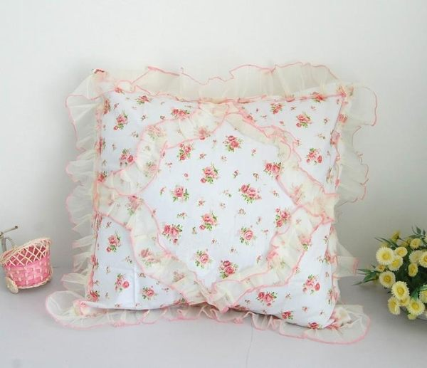 [超豐國際]棉方形抱枕靠墊家居腰靠沙發抱枕汽車靠枕3