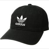 Adidas- 愛迪達男原創休閒現代帽(黑色)