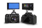 RGB攝影燈主播迷你補光燈LED戶外錄影直播美顔柔光燈