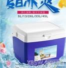 保溫箱家用車載戶外冰箱便攜保冷保鮮釣魚冰桶食品冷藏箱CY『新佰數位屋』