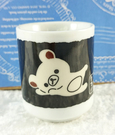【震撼精品百貨】Rilakkuma San-X 拉拉熊懶懶熊~迷你杯子-黑倒#18791