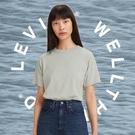Levis Wellthread環境友善系列 女款 短袖T恤 / 有機棉 / 天然染色工藝