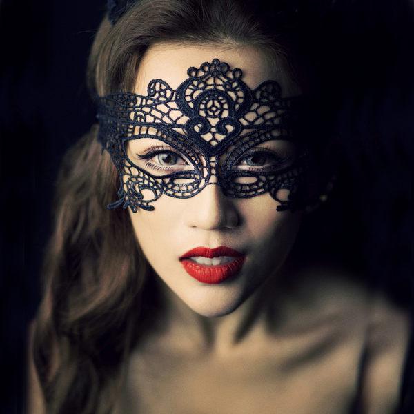 性感情趣內衣套裝蕾絲鏤空眼罩面具真人制服貓女