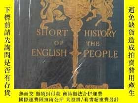 二手書博民逛書店The罕見short history of English pe