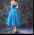 (45 Design) 訂製款 7天到貨禮法國蕾絲修身一字公主新娘婚紗禮服齊地蓬蓬顯瘦2