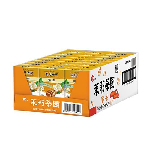 光泉茉莉茶園-蜜茶250mlx24入/箱【愛買】