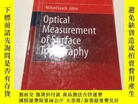 二手書博民逛書店optical罕見measurement of surface topography(表面形貌的光學測量)Y2
