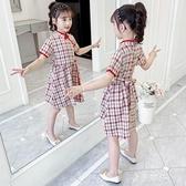 女童洋裝夏裝新款中國風復古漢服洋氣夏季旗袍公主裙 雙十二全館免運