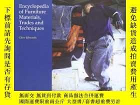 二手書博民逛書店Encyclopedia罕見of Furniture Mater