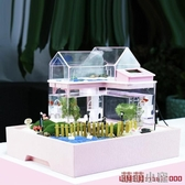 水族箱創意小魚缸迷你辦公室魚缸小型水族箱生態魚缸懶人魚缸熱帶魚魚缸 交換禮物