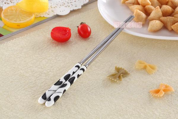 牛奶紋 陶瓷 不鏽鋼 筷子 韓款 木筷 竹筷 鐵筷 方筷 成人筷 便攜裝 筷子架 圓筷 7024