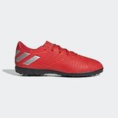 Adidas Nemeziz 19.4 Tf J [F99935] 大童鞋 足球鞋 愛迪達 包覆 支撐 保護 舒適 紅