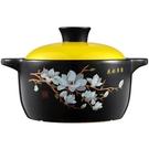 煲仔飯砂鍋耐高溫湯煲陶瓷小沙鍋煲湯鍋燉鍋明火家用燃氣湯鍋小號 亞斯藍