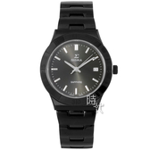 【台南 時代鐘錶 SIGMA】簡約時尚 藍寶石鏡面時尚腕錶 3801MSB01 黑/銀 37mm 平價實惠的好選擇