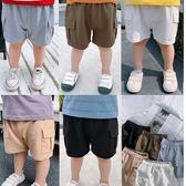 *╮小衣衫S13╭*兒童夏季百搭棉質工裝褲短褲1080428