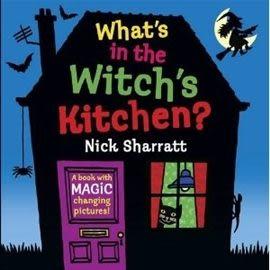 『繪本123‧吳敏蘭老師書單』--WHATS IN THE WITCH'S KITCHEN?  /新奇操作書《主題: 萬聖節》