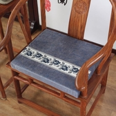 坐墊冬季新中式透氣紅木椅子坐墊實木辦公室圈椅茶桌椅墊凳子沙發座墊 非凡小鋪