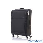 Samsonite新秀麗 28吋Stingray多功能收納可擴充布面TSA海關鎖行李箱(黑)